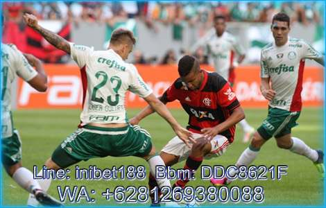 Palmeiras Vs Flamengo 14 Juni 2018 | inibet188