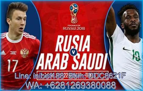 Rusia Vs Arab Saudi 14 Juni 2018 | inibet188