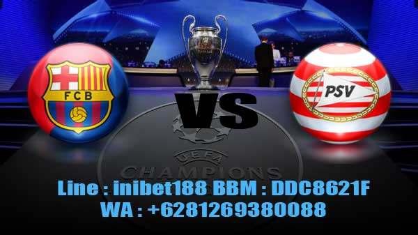 Prediksi Skor Barcelona vs PSV