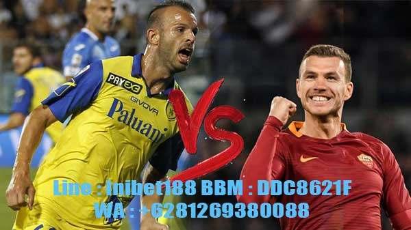 Prediksi Skor AS Roma vs Chievo